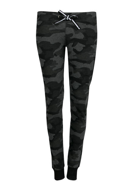 Ladies' Plus Size Camo Jogger