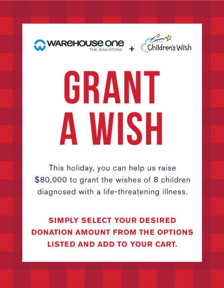 Donate to Children's Wish