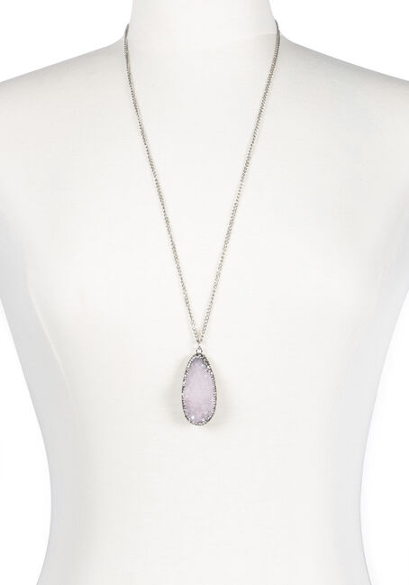 Ladies' Faux Gemstone Necklace