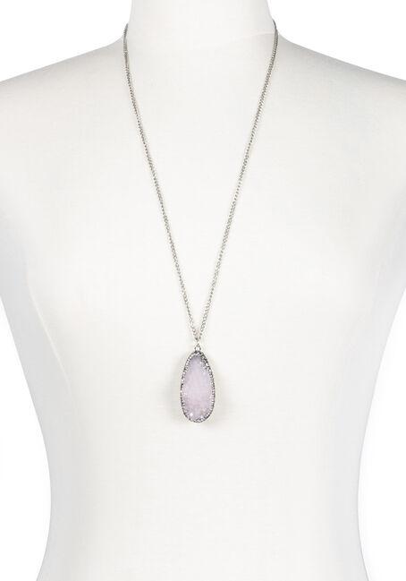 Ladies' Faux Gemstone Necklace
