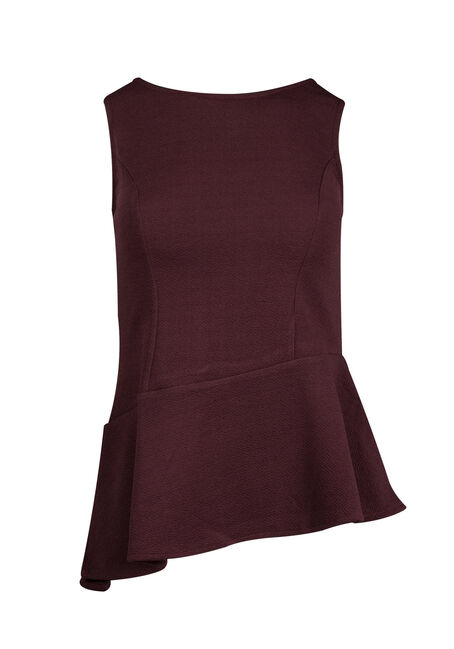 Ladies' Asymmetrical Peplum Tank