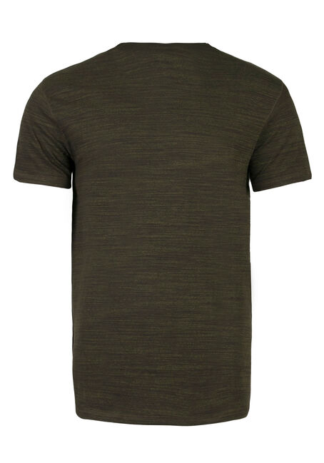 Men's Everyday V-neck Tee, DARK OLIVE, hi-res