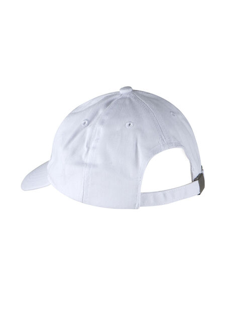 Ladies' Priority Baseball Hat, WHITE, hi-res
