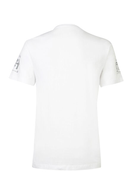 Men's Black Hills Camo Tee, WHITE, hi-res