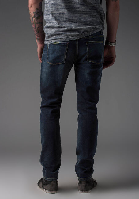 Men's Jeans 2.0 Skinny Dark Wash Jeans, DARK VINTAGE WASH, hi-res