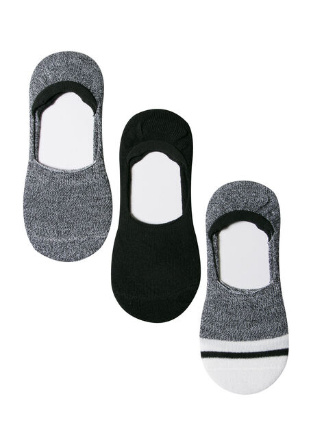 Ladies' 3 Pair Shoe Liners
