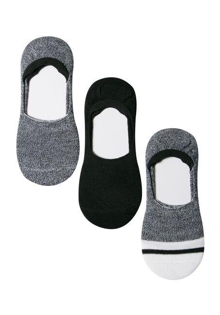 Ladies' 3 Pair Shoe Liners