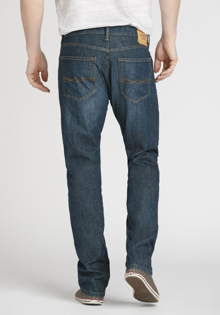Men's Regular Fit Jeans, DARK WASH, hi-res
