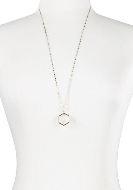 Ladies' Octagon Rock Necklace