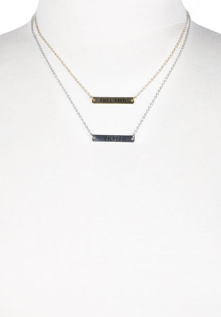 Ladies' Sassy Necklace Set, MIXED, hi-res