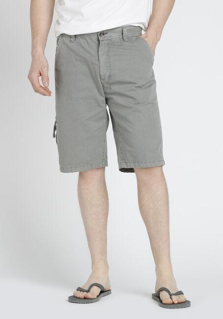Men's Washed Twill Shorts