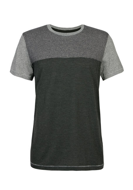 Men's Crew Neck Colour Block Tee