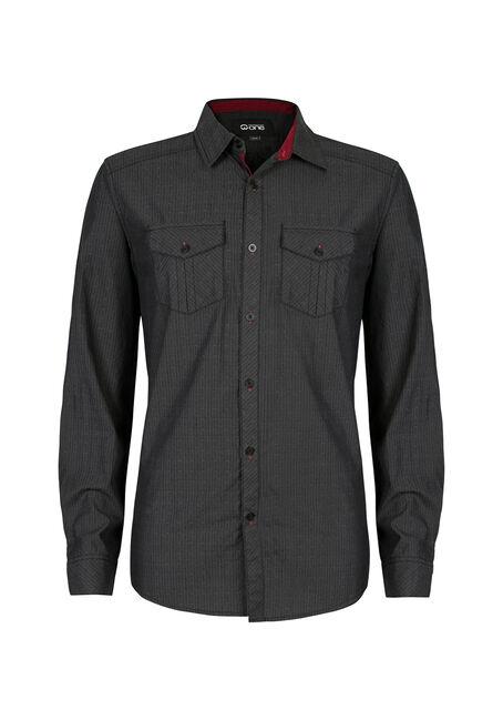 Men's Textured Dobby Shirt