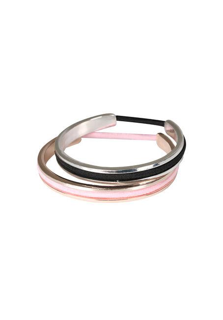 Ladies' Duo Elastic Keeper Bracelets