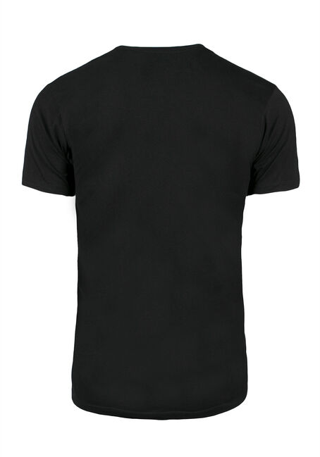 Men's Ginja Tee, BLACK, hi-res