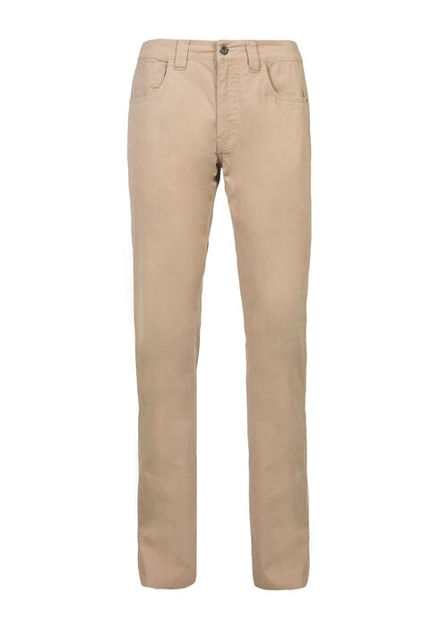 Men's Straight Leg Pants, KHAKI, hi-res