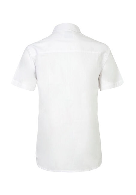 Men's Textured Shirt, WHITE, hi-res
