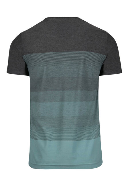 Men's Everyday Ombre Stripe Tee, Seafoam, hi-res