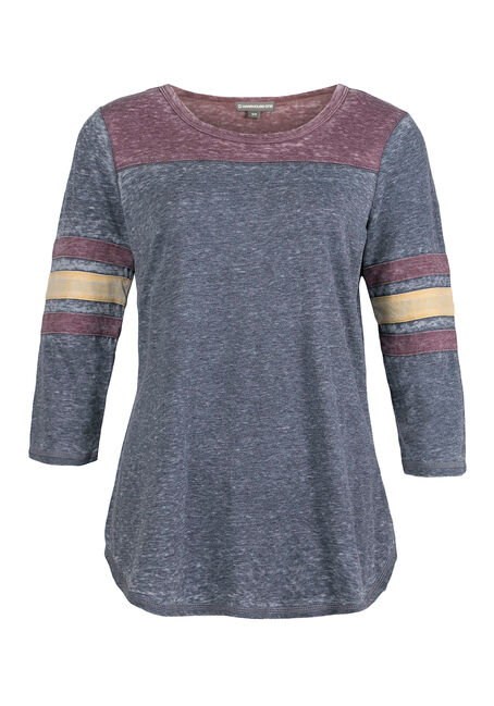 Ladies' Football Tee, INDIGO, hi-res