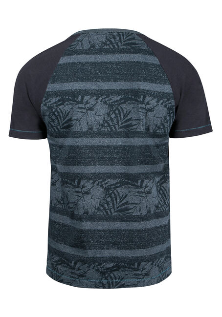 Men's Everyday Tropical Tee, BLUE, hi-res