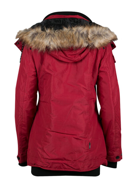 Ladies' Utility Parka, RIO RED, hi-res
