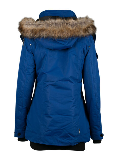 Ladies' Utility Parka, BLUE, hi-res