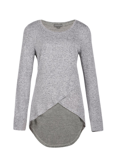 Ladies' Tulip Top, GREY, hi-res