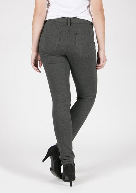 Ladies' Skinny Pants, CHARCOAL, hi-res