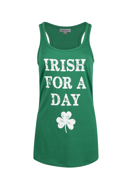 Ladies' Irish For A Day Racerback Tank