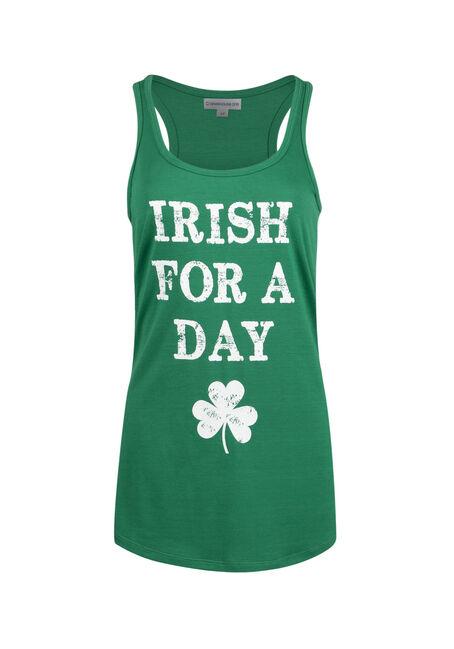 Ladies' Irish For A Day Racerback Tank