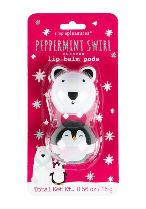 Peppermint Lip Balm Set, BRIGHT PINK, hi-res