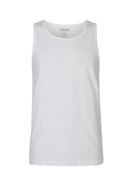 Men's Tank, WHITE, hi-res