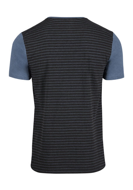 Men's Everyday Contrast Pocket Tee, SHADOW BLUE, hi-res