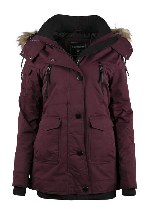 Ladies' Utility Parka, DEEP WINE, hi-res