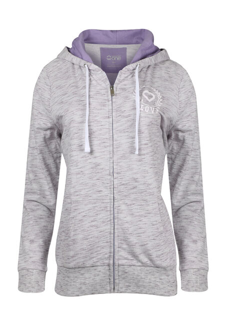 Ladies' Love Zip Up Hoodie