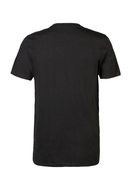 Men's Alberta Home Tee, BLACK, hi-res