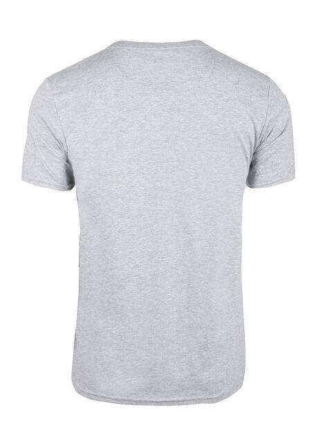 Men's NFL Vintage Logo Tee, HEATHER GREY, hi-res