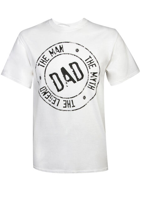 Men's Dad - The Man, Myth & Legend Tee