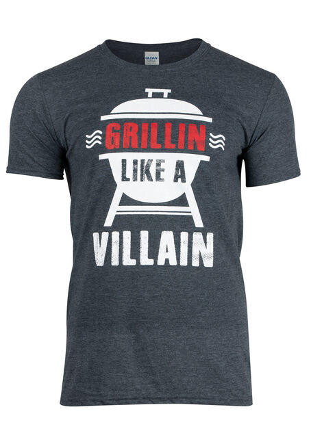 Men's Grillin' Like A Villain Tee