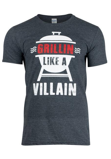 Men's Grillin' Like A Villain Tee