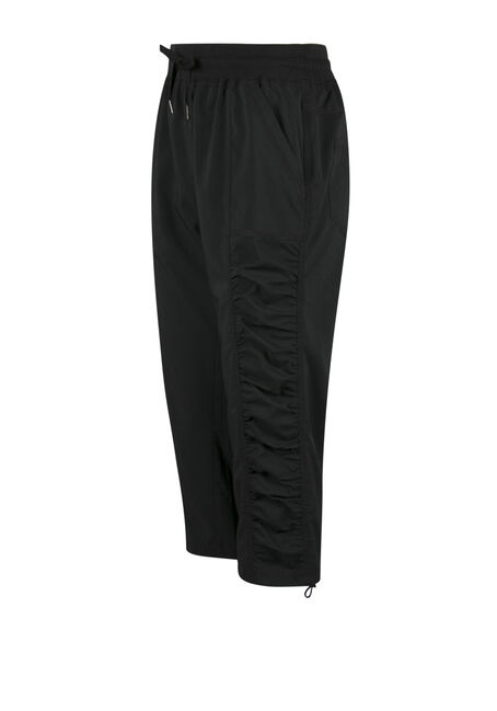Ladies' Athletic Capri, BLACK, hi-res