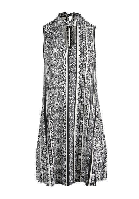 Ladies' Mock Neck Choker Dress
