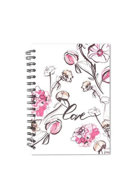 Floral Love Notebook