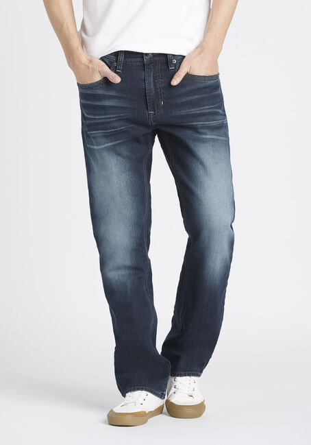 Men's Slim Straight Fit Jeans