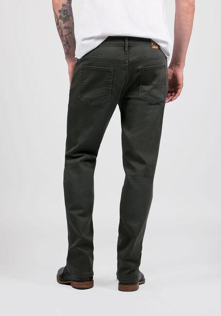 Men's Slim Straight Jeans, CHARCOAL, hi-res