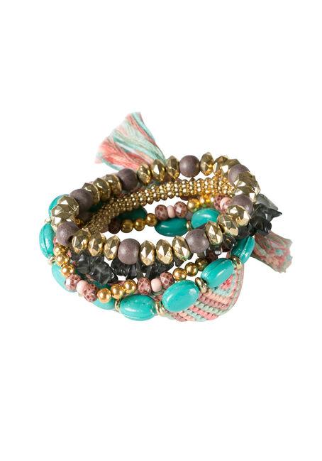 Ladies' 5 Piece Bracelet Set