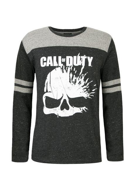 Men's Calll Of Duty Football Tee, BLACK, hi-res