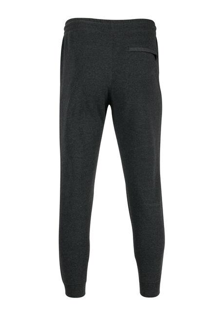 Men's Fleece Jogger, CHARCOAL, hi-res