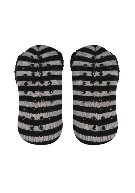 Ladies' Nightmare Slippers, BLACK, hi-res