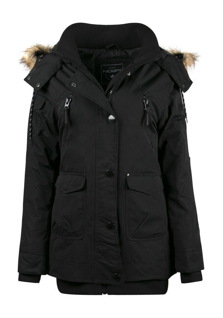 Ladies' Plus Size Utility Parka